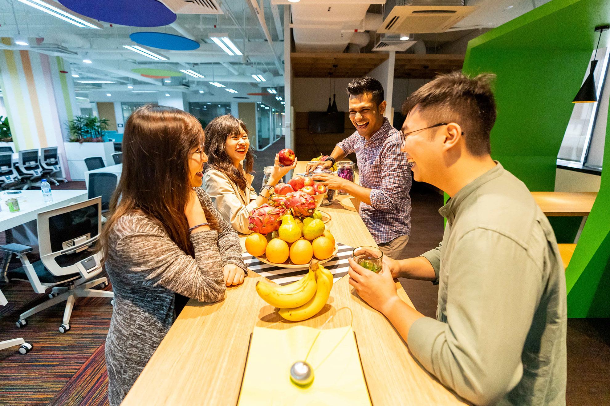 Hot Desk Singapore